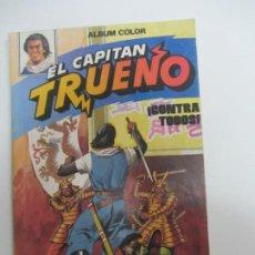 Livros de Banda Desenhada: EL CAPITÁN TRUENO Nº 5 BRUGUERA 1980 ALBUM COLOR CONTRA TODOS CX72. Lote 220689938