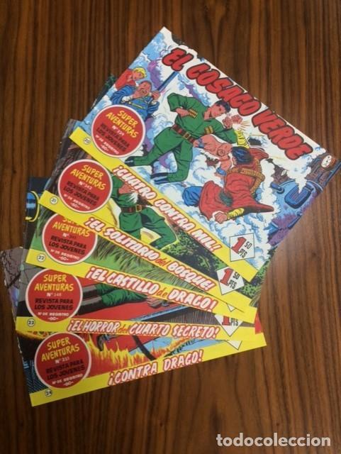 EL COSACO VERDE - LOTE DE 5 EJEMPLARES Nº 20, 21, 22, 23, 24. ED. BRUGUERA. (Tebeos y Comics - Bruguera - Cosaco Verde)