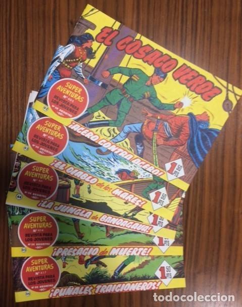 EL COSACO VERDE - LOTE DE 5 NUMEROS, Nº 42, 43, 44, 45, 46. (Tebeos y Comics - Bruguera - Cosaco Verde)