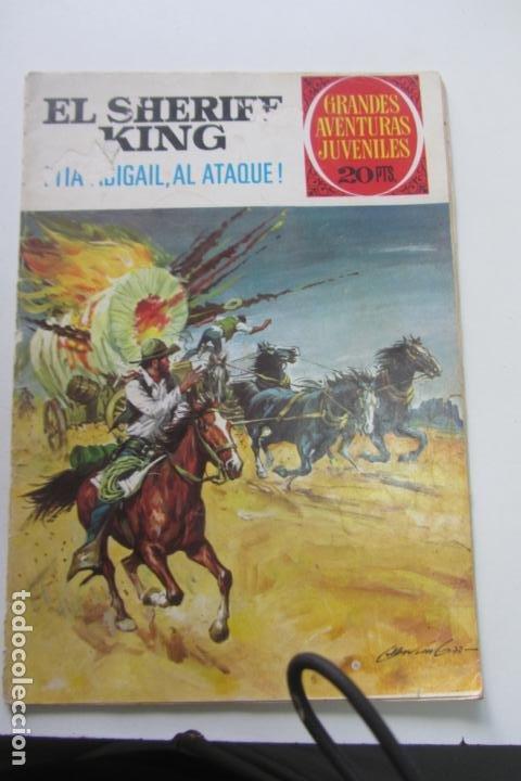 EL SHERIFF KING Nº 68. BRUGUERA, 1ª EDICIÓN 28-4-75. GRANDES AVENTURAS JUVENILES. BRUGUERA CX73 (Tebeos y Comics - Bruguera - Sheriff King)