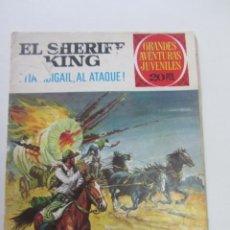 Tebeos: EL SHERIFF KING Nº 68. BRUGUERA, 1ª EDICIÓN 28-4-75. GRANDES AVENTURAS JUVENILES. BRUGUERA CX73. Lote 220784473