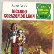 Tebeos: JOYAS LITERARIAS JUVENILES - RICARDO CORAZON DE LEON - BRUGUERA - COMIC. Lote 220812666