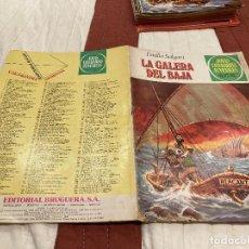 Tebeos: JOYAS LITERARIAS JUVENILES. Nº 222. LA GALERA DEL BAJA. 1ª EDICIÓN 1980. Lote 220817718