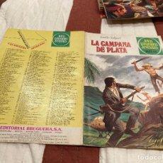 Tebeos: JOYAS LITERARIAS JUVENILES Nº 224 E. SALGARI, LA CAMPANA DE PLATA, BRUGUERA. 1ª EDICIÓN 1979. Lote 220818082