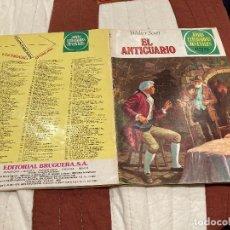 Tebeos: JOYAS LITERARIAS JUVENILES - Nº 227 - EL ANTICUARIO - BRUGUERA - 1ª EDICIÓN - 1980. Lote 220818501