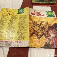 Tebeos: JOYAS LITERARIAS JUVENILES - Nº 232 - VIEJA MORTALIDAD - BRUGUERA - 1ª EDICIÓN - 1980. Lote 220818635