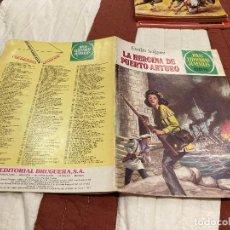 Tebeos: JOYAS LITERARIAS JUVENILES - Nº 236 - LA HEROINA DE PUERTO ARTURO - BRUGUERA - 1ª EDICIÓN - 1981. Lote 220818995