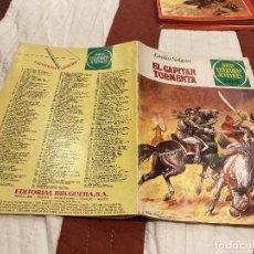 Tebeos: JOYAS LITERARIAS JUVENILES Nº239 EL CAPITAN TORMENTA 1ªEDICION 1981 BRUGUERA ,MUY DIFICIL. Lote 220820067
