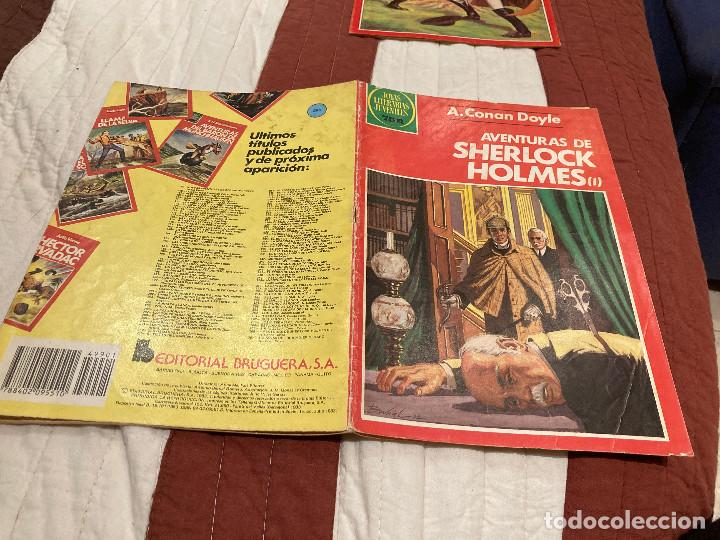 JOYAS LITERARIAS JUVENILES - Nº 266 -AVENTURAS DE SHERLOCK HOLMES I - BRUGUERA - AÑO 1983.1ª EDICION (Tebeos y Comics - Bruguera - Esther)