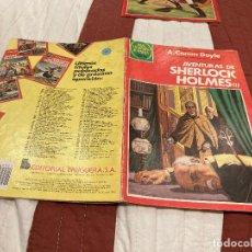 Tebeos: JOYAS LITERARIAS JUVENILES - Nº 266 -AVENTURAS DE SHERLOCK HOLMES I - BRUGUERA - AÑO 1983.1ª EDICION. Lote 220823291