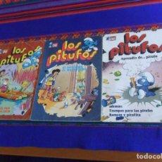 Tebeos: BUEN PRECIO, OLÉ LOS PITUFOS NºS 8, 12 Y 14. BRUGUERA 1ª PRIMERA EDICIÓN 1980.. Lote 220863170