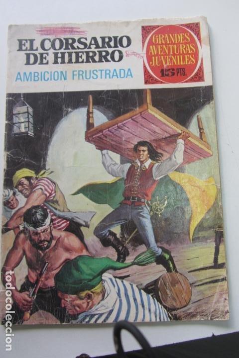 EL CORSARIO DE HIERRO 29 AMBICION FRUSTRADA GRANDES AVENTURAS JUVENILES. BRUGUERA CX73 (Tebeos y Comics - Bruguera - Sheriff King)