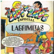 Tebeos: ZIPI Y ZAPE - ESPECIAL LAGRIMITAS - BRUGUERA 1983. Lote 220890452