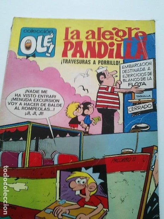 OLE LA ALEGRE PANDILLA N°77 TRAVESURAS A PORRILLO 1°EDICION BRUGUERA (Tebeos y Comics - Bruguera - Ole)