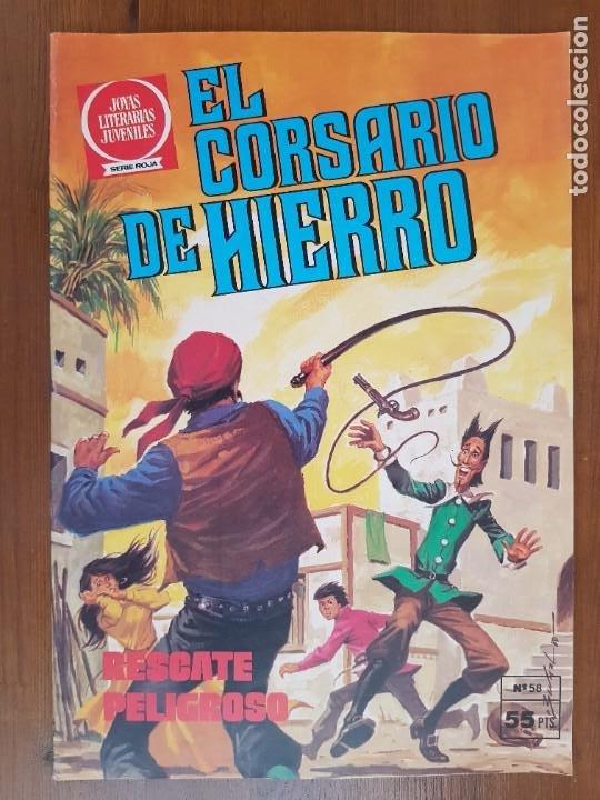TEBEO/CÓMIC EL CORSARIO DE HIERRO SERIE ROJA N 58 BRUGUERA ORIGINAL (Tebeos y Comics - Bruguera - Corsario de Hierro)