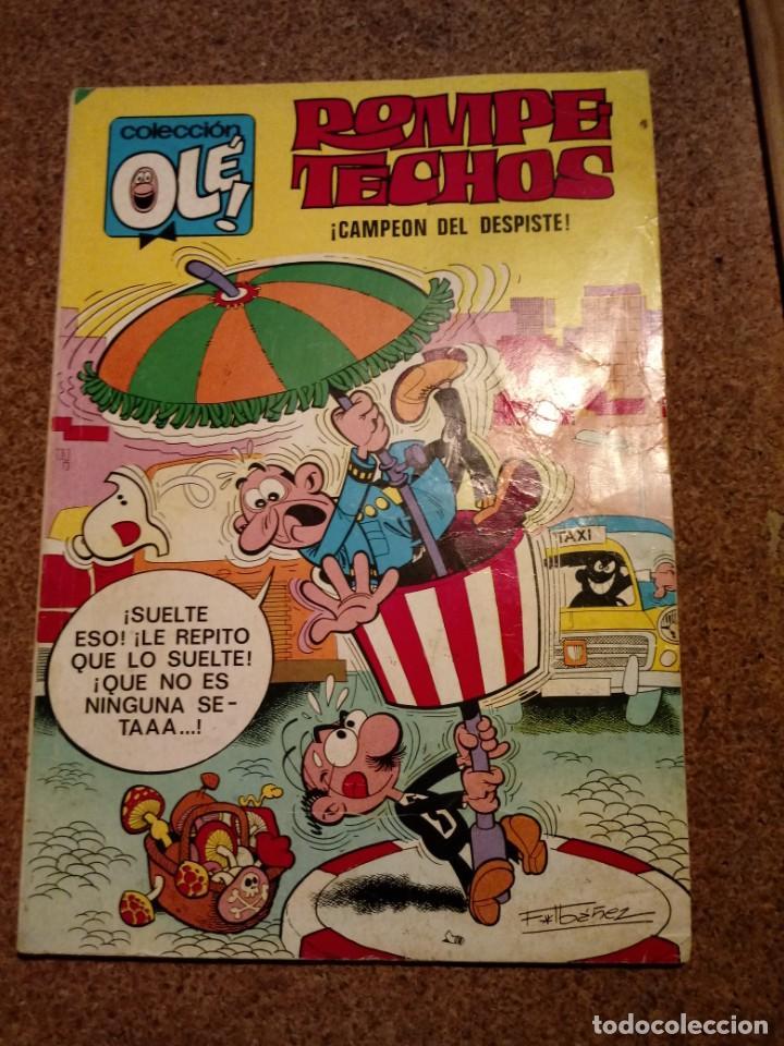 COMIC DE OLE ROMPE TECHOS CAMPEON DEL DESPISTE DEL AÑO 1990 Nº 36 (Tebeos y Comics - Bruguera - Ole)