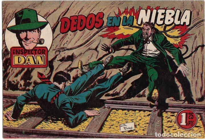 INSPECTOR DAN Nº 70, DIFICIL ORIGINAL, BRUGUERA 1954 MUY BIEN -- LEER TODO (Tebeos y Comics - Bruguera - Inspector Dan)