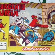 Tebeos: EL SARGENTO FURIA Nº 1 EN BUEN ESTADO. Lote 221131705