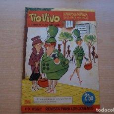 Tebeos: TIO VIVO - Nº 0 - EPOCA 2ª - ORIGINAL - EDITORIAL BRUGUERA - MUY BUEN ESTADO. Lote 221244230
