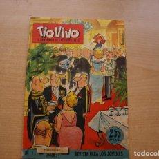 Tebeos: TIO VIVO - Nº 1 - EPOCA 2ª - ORIGINAL - EDITORIAL BRUGUERA - BUEN ESTADO - MIRAR LAS FOTOS. Lote 221244726