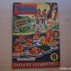 Tebeos: TIO VIVO - EXTRA DE VERANO 1963 - ORIGINAL - EDITORIAL BRUGUERA - BUEN ESTADO. Lote 221245041