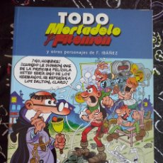 Tebeos: EDICIONES B - TODO MORTADELO Y FILEMON NUM. 2 . MUY BUEN ESTADO. Lote 221253376