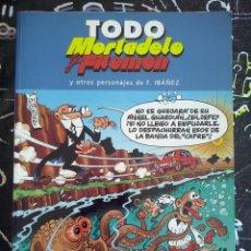 Tebeos: EDICIONES B - TODO MORTADELO Y FILEMON NUM. 12 . MUY BUEN ESTADO. Lote 221253897
