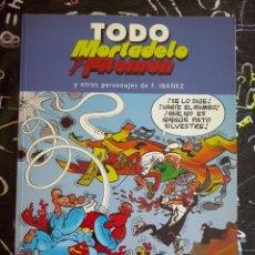 Tebeos: EDICIONES B - TODO MORTADELO Y FILEMON NUM. 25 . MUY BUEN ESTADO. Lote 221254083