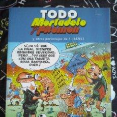 Tebeos: EDICIONES B - TODO MORTADELO Y FILEMON NUM. 27 . MUY BUEN ESTADO. Lote 221254193