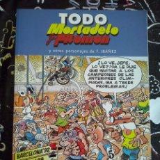 Tebeos: EDICIONES B - TODO MORTADELO Y FILEMON NUM. 34 . MUY BUEN ESTADO. Lote 221254353