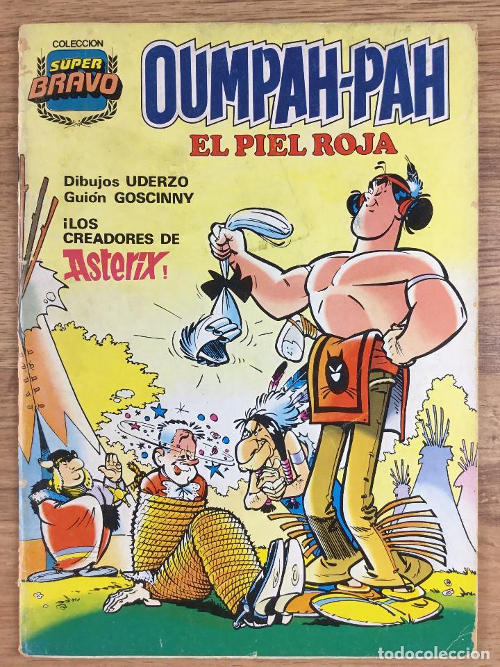 Tebeos: OUMPAH-PAH El Piel Roja - Colección completa 5 números Dibujos UDERZO Guión GOSCINNY - Foto 2 - 221266915
