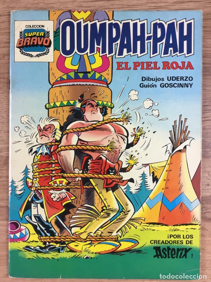 Tebeos: OUMPAH-PAH El Piel Roja - Colección completa 5 números Dibujos UDERZO Guión GOSCINNY - Foto 3 - 221266915