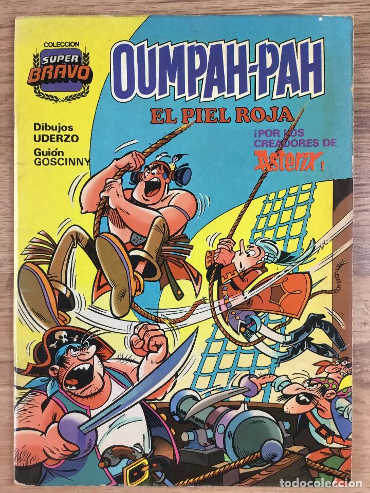 Tebeos: OUMPAH-PAH El Piel Roja - Colección completa 5 números Dibujos UDERZO Guión GOSCINNY - Foto 4 - 221266915
