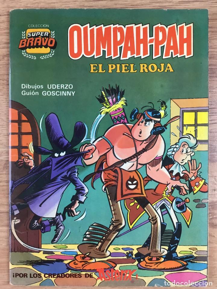 Tebeos: OUMPAH-PAH El Piel Roja - Colección completa 5 números Dibujos UDERZO Guión GOSCINNY - Foto 5 - 221266915