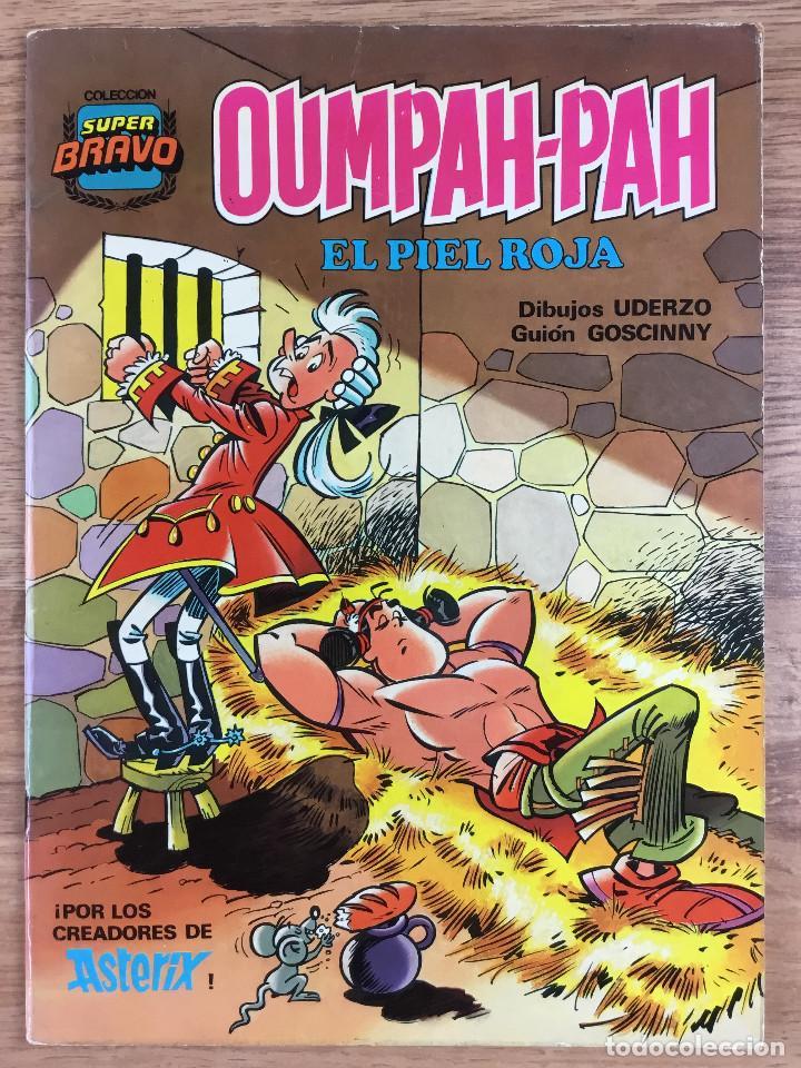 Tebeos: OUMPAH-PAH El Piel Roja - Colección completa 5 números Dibujos UDERZO Guión GOSCINNY - Foto 6 - 221266915