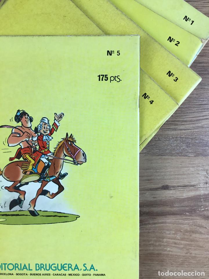Tebeos: OUMPAH-PAH El Piel Roja - Colección completa 5 números Dibujos UDERZO Guión GOSCINNY - Foto 7 - 221266915