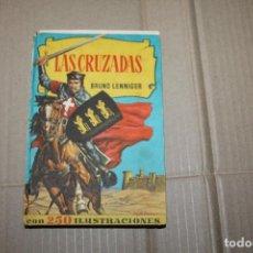 Tebeos: LAS CRUZADAS, COLECCIÓN HISTORIAS, EDITORIAL BRUGUERA, 1ª EDICIÓN, AÑO 1957. Lote 221275198