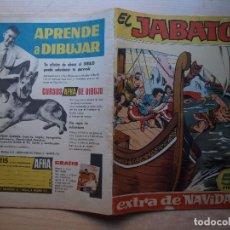 Tebeos: EL JABATO - EXTRA DE NAVIDAD - AÑO 1962 - ORIGINAL - EDITORIAL BRUGUERA - BUEN ESTADO. Lote 221293927