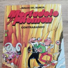 """Tebeos: MORTADELO Y FILEMÓN """"CONTRABANDO"""".. Lote 221354767"""