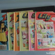 Tebeos: LOTE 6 LILY. Lote 221370015