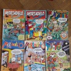 BDs: MORTADELO Y SUPER MORTADELO LOTE. Lote 221376057