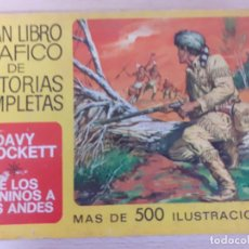 Tebeos: DAVID CROKETT. DE LOS APENINOS A LOS ANDES. GRAN LIBRO GRÁFICO HISTORIAS COMPELTAS. Nº 3. BRUGUERA. Lote 221407607