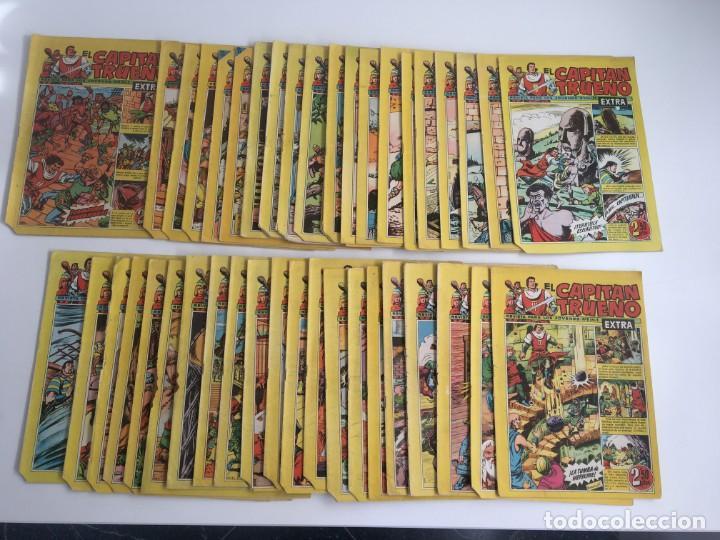 EL CAPITAN TRUENO , EXTRA, LOTE 43 REVISTAS (Tebeos y Comics - Bruguera - Capitán Trueno)