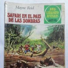 Tebeos: JOYAS LITERARIAS JUVENILES, SAFARI EN EL PAIS DE LAS SOMBRAS, Nº 145, EDICIONES BRUGUERA, AÑO 1979. Lote 221453935