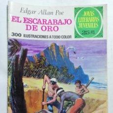 Tebeos: JOYAS LITERARIAS JUVENILES, EL ESCARABAJO DE ORO, Nº 88, EDICIONES BRUGUERA, AÑO 1977. Lote 221454221