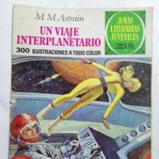 Tebeos: JOYAS LITERARIAS JUVENILES, UN VIAJE INTERPLANETARIO, Nº 64, EDICIONES BRUGUERA, AÑO 1979. Lote 221454366