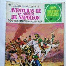 Tebeos: JOYAS LITERARIAS JUVENILES, AVENTURAS DE UN SOLDADO DE NAPOLEO , Nº 15, EDICIONES BRUGUERA, AÑO 1978. Lote 221454805