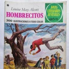 Tebeos: JOYAS LITERARIAS JUVENILES, HOMBRECITOS , Nº 127, EDICIONES BRUGUERA, AÑO 1978. Lote 221455102