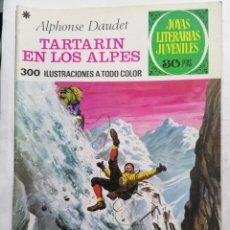 Tebeos: JOYAS LITERARIAS JUVENILES, TARTARIN EN LOS ALPES , Nº 125, EDICIONES BRUGUERA, 1978. Lote 221455925