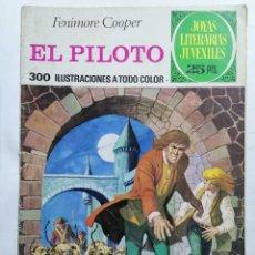 Tebeos: JOYAS LITERARIAS JUVENILES, EL PILOTO , Nº 57, EDICIONES BRUGUERA, 1976. Lote 221457520